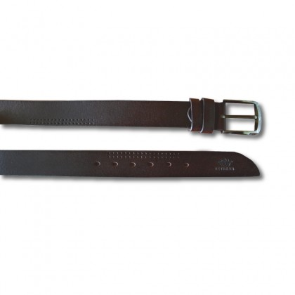 EXTREMA Big Size Men's Pin Buckle Leather Belt EB39 Extra Long Length