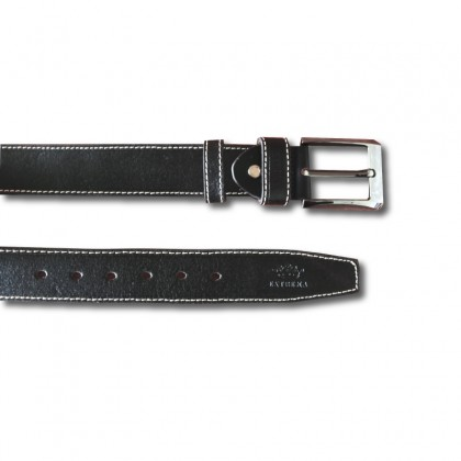 EXTREMA Big Size Men's Pin Buckle Leather Belt EB40 Extra Long Length