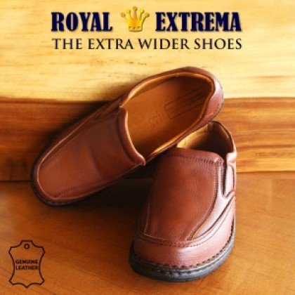 ROYAL EXTREMA Men's Big Size Moccasins Slip-on Pull-on Shoes RESH0008