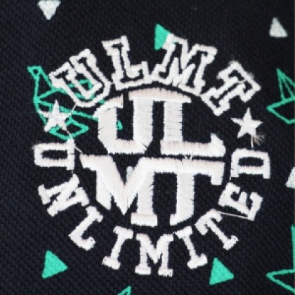 ULMT UNLIMITED Men's Extra Large POLO Printed T-Shirt ULMTS200001